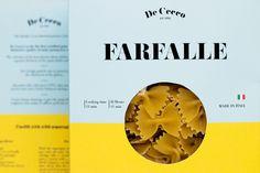 De Cecco #packaging #typography