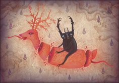 The Cursed Forest on the Behance Network
