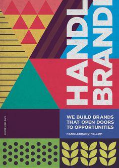 Designer Typography Inspiration Posters #design #posters #typography #Inspiration #graphicdesign www.handlebranding.com.au