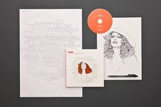 "Carosello Records ""RITRATTO"" Box - The Dieline: The World's #1 Package Design Website -"