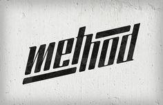 methodlogotype.jpeg (700×452) #method #retro #grain #identity #vintage #logo