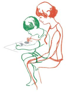Like Father, Like Daughter, Like Son - NYTimes.com #illustration #nytimes