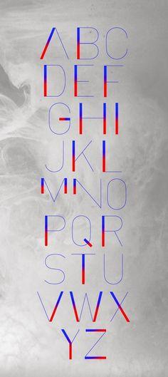 SENSES TYPEFACE on Behance #print #sense #typography