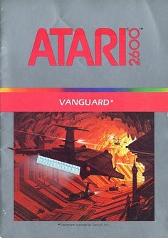 Atari - Vanguard | Flickr - Photo Sharing! #games #video #illustration #manual #booklet