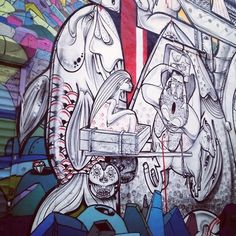 http://simiautomatic.tumblr.com/ #graffiti #art #brooklyn #street