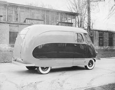 Speedlined Delivery: A milk truck mystery - Old Cars Weekly #truck #old #design #vintage #milk #car