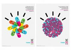 Office | Work | IBM / Designing a Smarter Planet #colourful #illustration