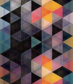ANDY GILMORE GEOMETRIC PATTERNS #pattern #design #graphic #geometric #illustration #poster