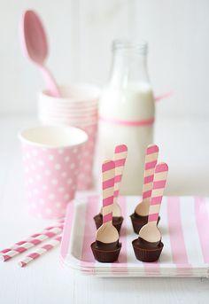 catarinaregina: La Receta de la Felicidad #pink #cups #white