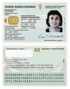Norwegian Passports by Neue Studio