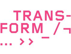 fredcarriedo_transform_01 #pink #type #transform
