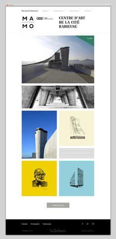 MAMO #layout #website #web #web design