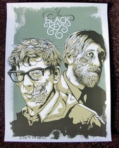 OMG Posters! » Archive » The Black Keys Poster by Jeff Proctor (Onsale Info)