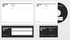 FFFFOUND! #stationary #white #black