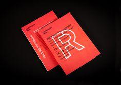 Roter Flyer als Beispiel für eine Einladung zu einer Podiumsdiskussion #book