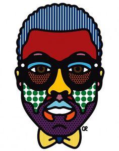 Craig & Karl - Kanye #illustration #il