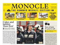 Image result for monocle newspaper