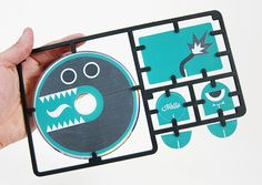 Self Promotion #packaging #illustration #toy