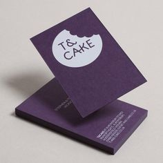 FFFFOUND! | T&Cake : Lovely Stationery . Curating the very best of stationery design #card #design #graphic #business