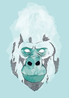 KING on the Behance Network #jones #2012 #sydney #illustration #gorilla #artist #chelsea #king