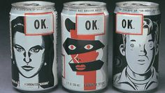 OK Soda 1995 #comic #illustration #90s #soda #can