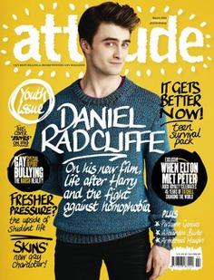 Daniel Radcliffe stars new cover Attitude
