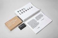 Studiolin paulloebach stationery2 1200 xxx #stamp #business #card #print #foil