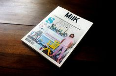 Mile décoration magazine 8 available at www.mr-cup.com #print #cover #spread #grid #type #layout #paper #magazine