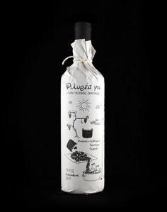 FörpackadFörpackningsdesign, Förpackningar, Grafisk Design » Handritade flaskor CAP&Design Nordens största tidning för kreativa #packaging #design #graphic #bottle