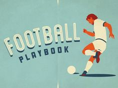 Dribbble - Football Playbook Artwork by Emir Ayouni | Growcase #design #graphic #typography