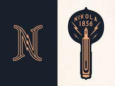 branding, light, bulb #mark #lightning bolt