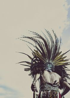 Huitzilopoxtli by Laurent Nivalle #mayan #tribal #photography #ancient #aztec