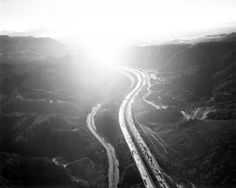 Michael Light x LA #la #motorway #landscape