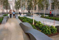 Landscape Sculpture Made of Concrete
