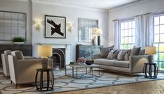Notting Hill Living room - #interiordesign #design #london