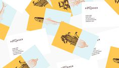 Potlikker Comfort Food | Lucas Jubb Design & Illustration