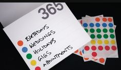 365 Cal #product #print #design #calendar