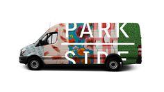 Parkside Bikes #Logo #Type #Logotype #Van
