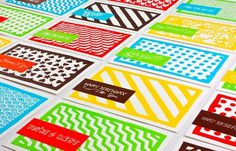 Design Work Life » HUB Collective: Promotional Postcards