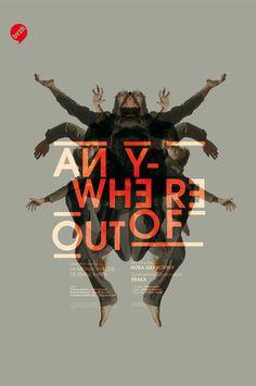 anywhere ciebvzk poster by Les produits de l'xc3xa9picerie #design #poster