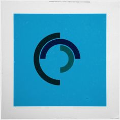 Geometry Daily #geometry #print #geometric #minimal #poster #circle
