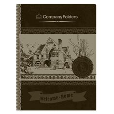 Welcome Home Real Estate Folder Template