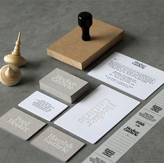 Cornwell: Hecker Guthrie at iainclaridge.net #desig #stationary #branding #design #identity #web #typography