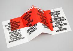 #typography #fold #pamphlet