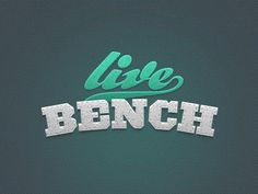 Lb_shot #live #bench #logo #type #typography