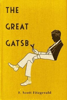 Pinned Image #typography #book cover #great gatsby