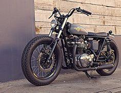 :: DEUS EX MACHINA - The Bloodnok W650 MkII :: #motorcycle #graphics #custom #australia #deus ex machina #bloodnok #rebuild