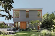 Compact Single-Family Home in Seattle with Sustainable Features #architecture
