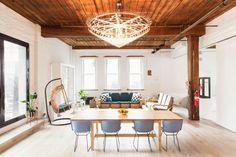 loft – industrial space #interiordesign