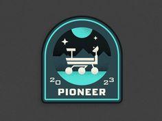 Pluto Expeditions - Pioneer #illustration #vector